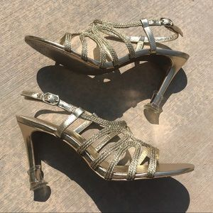 d6ef0cc4378 Adrianna Papell Shoes - Adrianna Papell Amena Metallic Rope Sandals